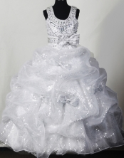 2012 Fashionable Ball Gown Scoop Floor-length Flower Girl Dress Style RFGDC034