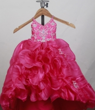 2012 Lovely Ball Gown V-neck Floor-length Little Gril Pagant Dress Style RFGDC056
