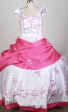 2012 Popular Ball Gown Square Floor-length Flower Girl Dress  Style RFGDC0112