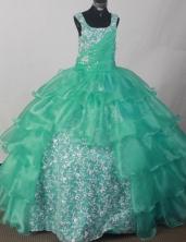 2012 Popular Ball Gown Sweetheart Floor-length Flower Girl Dress  Style RFGDC0120
