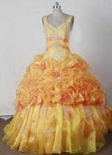2012 Popular Ball Gown Sweetheart Strap Floor-length Flower Girl Dress Style RFGDC042