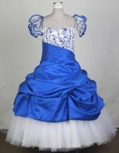 2012 Pretty Ball Gown Strapless Floor-length Flower Girl Dress Style RFGDC0108