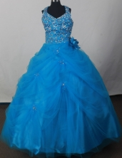 2012 Sweet Ball Gown Sweetheart Floor-length Flower Girl Dress Style RFGDC0118