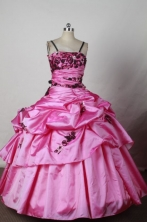 Discount Ball gown Strap Floor-Length Little Girl Pageant Dresses Style FA-Y-300