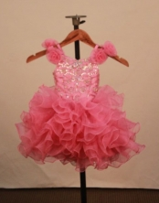Elegant Ball gown Scoop neck Floor-Length Little Girl Pageant Dresses Style FA-Y-335
