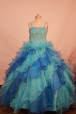 Gorgeous Ball gown Strap Floor-length Flower Girl Dresses Style FA-C-139