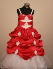 Perfect Ball gown Strap Floor-Length Little Girl Pageant Dresses Style FA-Y-340