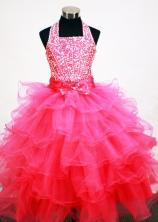 Popular Ball gown Sweetheart-neck Floor-length Flower Girl Dresses Style FA-C-130