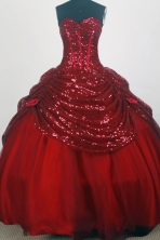 Pretty Ball Gown Sweetheart Floor-length Quinceanera Dress ZQ12426079