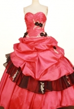 Beautiful Ball Gown Sweetheart Floor-length Appliques Quinceanera Dresses Appliques Style FA-Z-0339