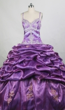 Beautiful Ball gown Strap Floor-length Quinceanera Dresses Style FA-W-r71