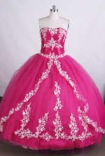 Beautiful Ball gown Sweetheart Floor-length Quinceanera Dresses Appliques with Beading Style FA-Z-0011