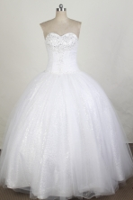Beautiful Ball gown Sweetheart-neck Floor-length Quinceanera Dresses Style FA-W-r28