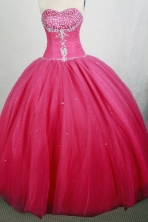 Beautiful Ball gown Sweetheart-neck Floor-length Quinceanera Dresses Style FA-W-r66
