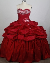 Brand New Ball gown Sweetheart-neck Floor-length Quinceanera Dresses Style FA-W-r53
