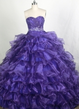 Brand New Ball gown Sweetheart-neck Floor-length Quinceanera Dresses Style FA-W-r78