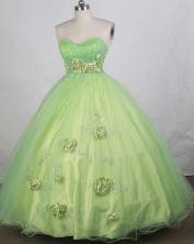 Cheap Ball gown Sweetheart-neck Floor-length Quinceanera Dresses Style FA-W-r59