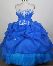 Elegant Ball Gown Sweetheart Floor-length Quinceanera Dress Style FA-W-r35