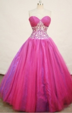 Elegant Ball gown Sweetheart Floor-length Quinceanera Dresses Appliques with Beading Style FA-Z-0064