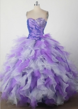 Exclusive Ball Gown Sweetheart Floor-length Quincenera Dresses TD260012