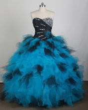 Exquisite Ball gown Sweetheart Floor-length Quinceanera Dresses Style FA-W-r48