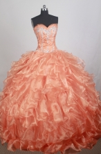 Gorgeous Ball Gown Sweetheart Floor-length Quinceanera Dress ZQ12426089