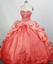 Gorgeous Ball gown Sweetheart Sweep Train Quinceanera Dresses Style FA-W-r64
