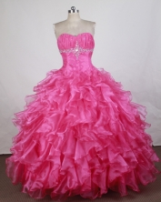 Gorgeous Ball gown Sweetheart-neck Floor-length Quinceanera Dresses Style FA-W-r23