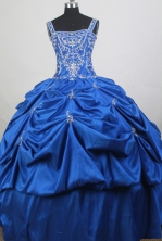 Luxurious  Ball Gown Straps Floor-length Quinceanera Dress ZQ12426069