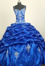 Perfect Ball Gown Straps Floor-length Quinceanera Dress ZQ12426090