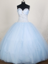 Perfect Ball Gown Sweetheart Floor-length Quinceanera Dress ZQ12426072