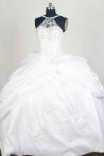 Perfect Ball Gown Sweetheart Floor-length Quinceanera Dress ZQ12426081
