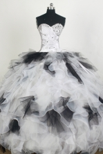 Pretty Ball Gown Sweetheart Floor-length Quinceanera Dress ZQ12426076