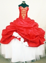 Beautiful Ball Gown Sweetheart Floor-length Quinceanera Dresses Appliques Style FA-Z-0305