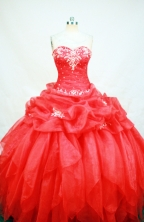Exquisite Ball gown Sweetheart neck Floor-Length Quinceanera Dresses Style FA-Y-145