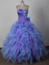 Amazing Ball Gown Sweetheart Neck Floor-length Quinceanera Dress LJ2662