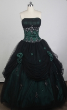 Exclusive Ball Gown Strapless Floor-length Quinceanera Dress LZ426008