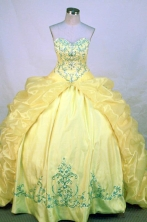 Fashionable Ball gown Sweetheart neck Floor-Length Quinceanera Dresses Style FA-Y-68