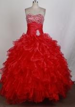 Gorgeous Ball Gown Sweetheart Floor-length Quinceanera Dress ZQ12426032