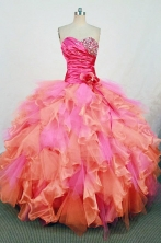 Gorgeous Ball gown Sweetheart neck Floor-Length Quinceanera Dresses Style FA-Y-51