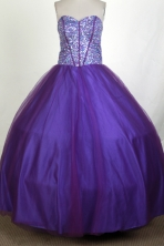 Perfect Ball Gown Sweetheart Floor-length Quinceanera Dress ZQ12426033