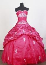 Perfect Ball Gown Sweetheart Floor-length Quinceanera Dress ZQ12426035