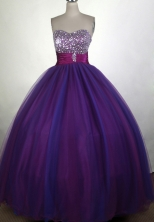 Pretty A-line Sweetheart Floor-length Quinceanera Dress ZQ12426058