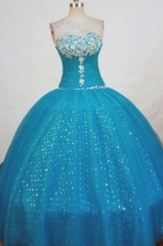 Beautiful Ball Gown Sweetheart-neck Floor-length Quinceanera Dresses Style FA-W-306