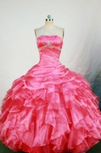 Cute Ball Gown Strapless Floor-length Quinceanera Dresses Style FA-W-324