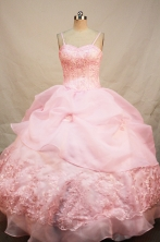 Elegant Ball gown Strap Floor-Length Quinceanera Dresses Style FA-Y-111
