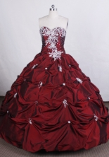 Beautiful Ball gown Sweetheart-neck Floor-length Quinceanera Dresses Style FA-C-076