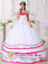 Prom Multi-color Ruched Layered Appliques 2013 Quinceanera Gowns With Strapless For Sweet 16 in   Chin andega Nicaragua  Style QDZY492FOR