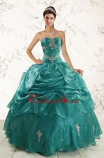 2015 New Style Ball Gown Sweet 16 Dresses with Appliques XFNAO006FOR