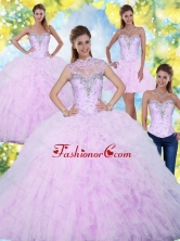 Beautiful Quinceanera Dresses with Beading and Ruffles SJQDDT2001FOR
